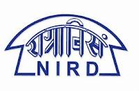 27 Senior Research Fellow & Project Scientist Post Vacancy - NIRD